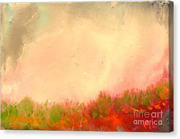 Grass Fire Canvas Print