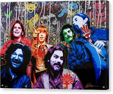 Grateful Dead  Canvas Print by Gary Kroman