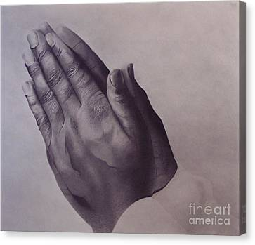 Grateful One Canvas Print