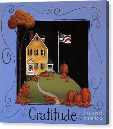 Gratitude Canvas Print by Catherine Holman