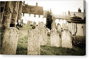 Grave Yard Canvas Print by Tom Gowanlock