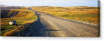Gravel Road Passing Canvas Print by Panoramic Images