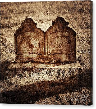 Graves Canvas Print by HD Connelly