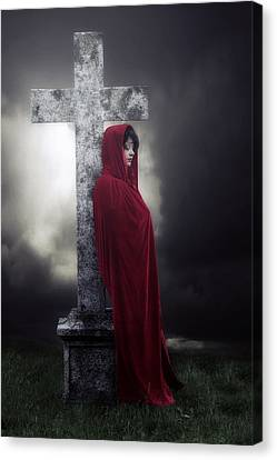 Graveyard Canvas Print by Joana Kruse