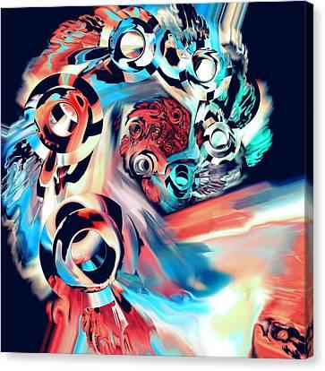 Gravity Well Canvas Print by Anastasiya Malakhova