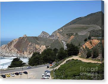 Gray Whale Cove State Beach Montara California 5d22614 Canvas Print by Wingsdomain Art and Photography