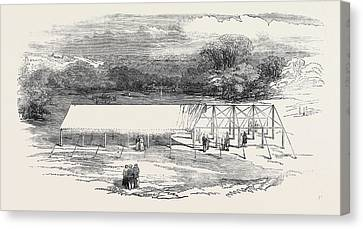 Grays New Portable Tenting Canvas Print
