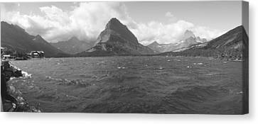 State Of Montana Canvas Print - Grayscale Of Lake Sherbourne, Many by Panoramic Images