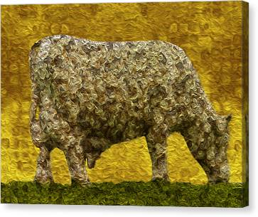 Grazing 2 Canvas Print by Jack Zulli