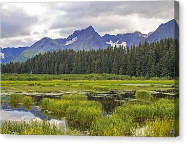 Great Alaskan Outdoors Canvas Print