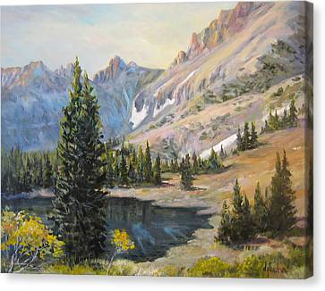 Great Basin Nevada Canvas Print by Donna Tucker