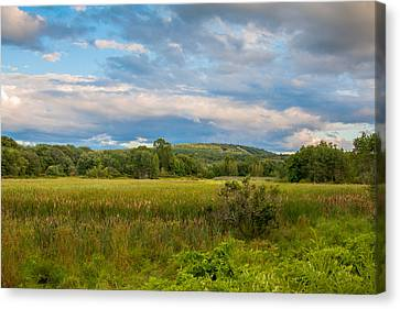 Great Blue Hill Canvas Print