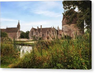 Wiltshire Canvas Print - Great Chalfield Manor by Joana Kruse