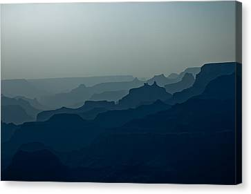 Canvas Print featuring the photograph Great Crevice by Joel Loftus