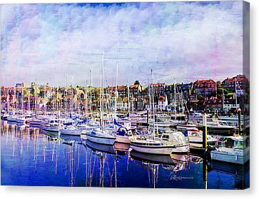 Great Day For Getting Out On The Water Featured In Abc-newbies And Photography And Textures Groups Canvas Print by EricaMaxine  Price