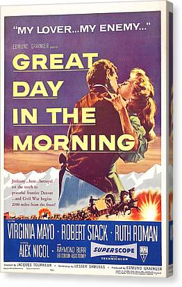 Great Day In The Morning, Us Poster Canvas Print by Everett