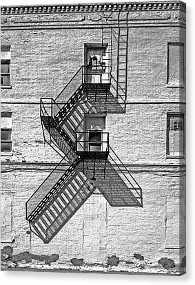 Fire Escape Canvas Print - Great Escape by Don Spenner