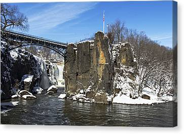 Great Falls In Color Canvas Print