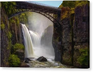 Scenics Canvas Print - Great Falls Mist by Susan Candelario