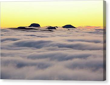 Great Gable From Red Screes Canvas Print by Ashley Cooper