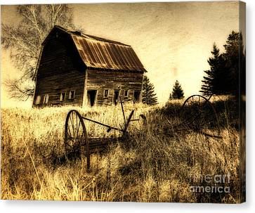 Great Grandfather's Barn II Canvas Print