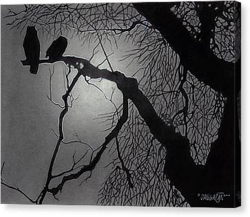 Great Horned Owl Canvas Print by Tim Dangaran