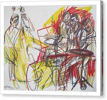 Great Jazz Canvas Print by Gita Lloyd