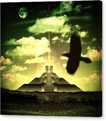 Great Mayan Dream Canvas Print by Milton Thompson