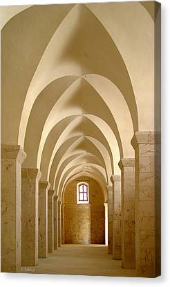 Great Mosque Of Aleppo Canvas Print