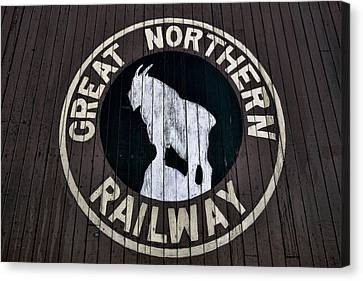 Great Northern Railway Canvas Print by Daniel Hagerman