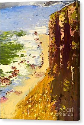 Great Ocean Road Canvas Print by Pamela  Meredith