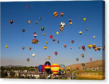 Great Reno Balloon Race Canvas Print