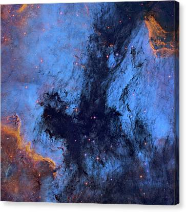 Nebula Canvas Print - Great Rift Nebula by Tony & Daphne Hallas