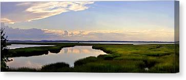 Great Salt Marsh - Plum Island Canvas Print