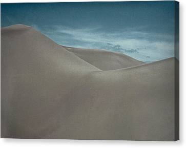 Canvas Print featuring the photograph Great Sand Dunes by Don Schwartz