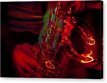 Canvas Print featuring the photograph Great Sax by Alex Lapidus