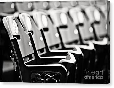 Great Seats Canvas Print by Scott Pellegrin
