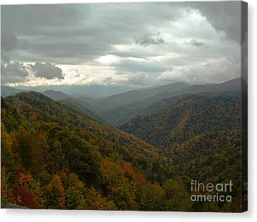 The Great Smokey Mountains Canvas Print by Reid Callaway