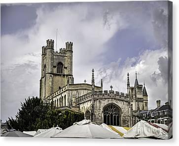 Great St  Marys The University Church Cambridge Canvas Print by Frank Bach
