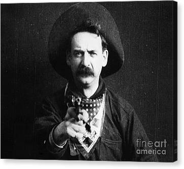 Great Train Robbery 1903 Canvas Print by Granger