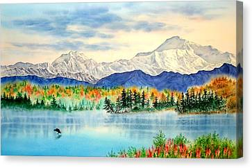 Great View Canvas Print by John YATO
