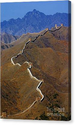 Great Wall Of China Canvas Print by Henry Kowalski