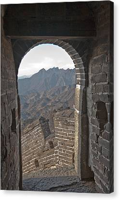 Great Wall View Canvas Print