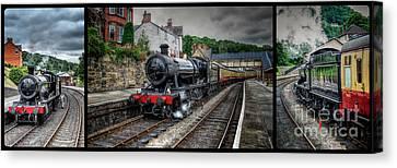 Great Western Locomotive Canvas Print by Adrian Evans