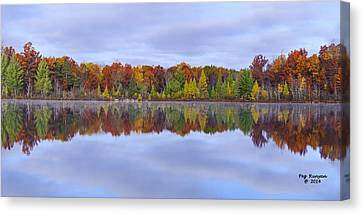 Jewett Lake Canvas Print