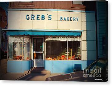 Greb's Bakery Pittsburgh Canvas Print by Jim Zahniser