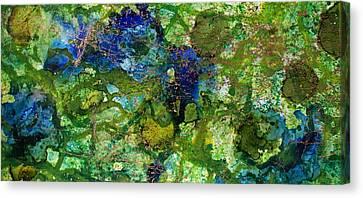 Green Algae Canvas Print by Joanne Smoley