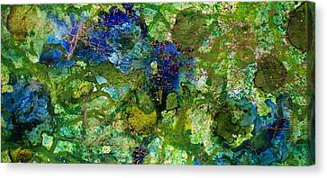 Green Algae Canvas Print