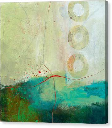 Green And Red 2 Canvas Print by Jane Davies