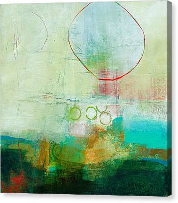 Green And Red 6 Canvas Print by Jane Davies